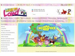 Інтернет-магазин дитячих іграшок Фіксіки